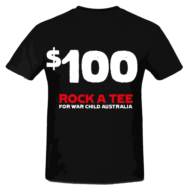$100 Rock A Tee Donation