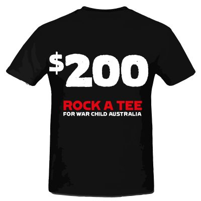 $200 Rock A Tee Donation