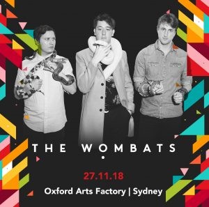 War Child presents The Wombats 27 November 2018